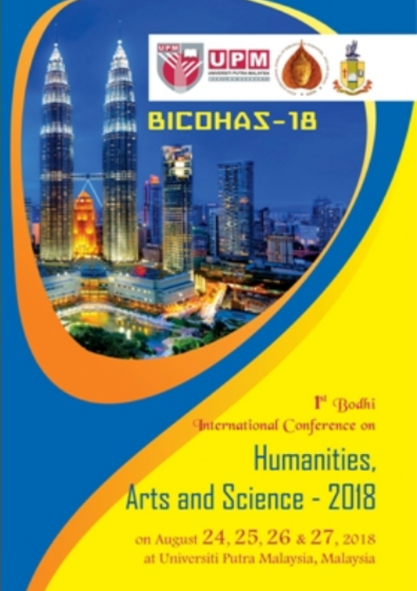 1st Bodhi International Conference on Humanities, Arts and Science 2018